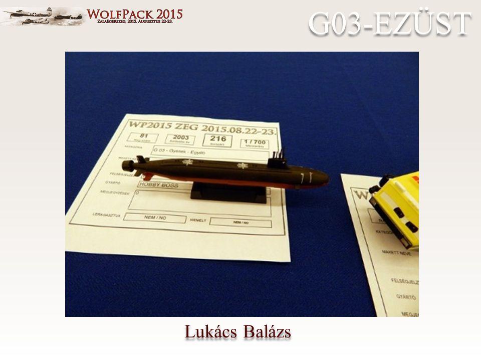 Lukács Balázs G03-EZÜST