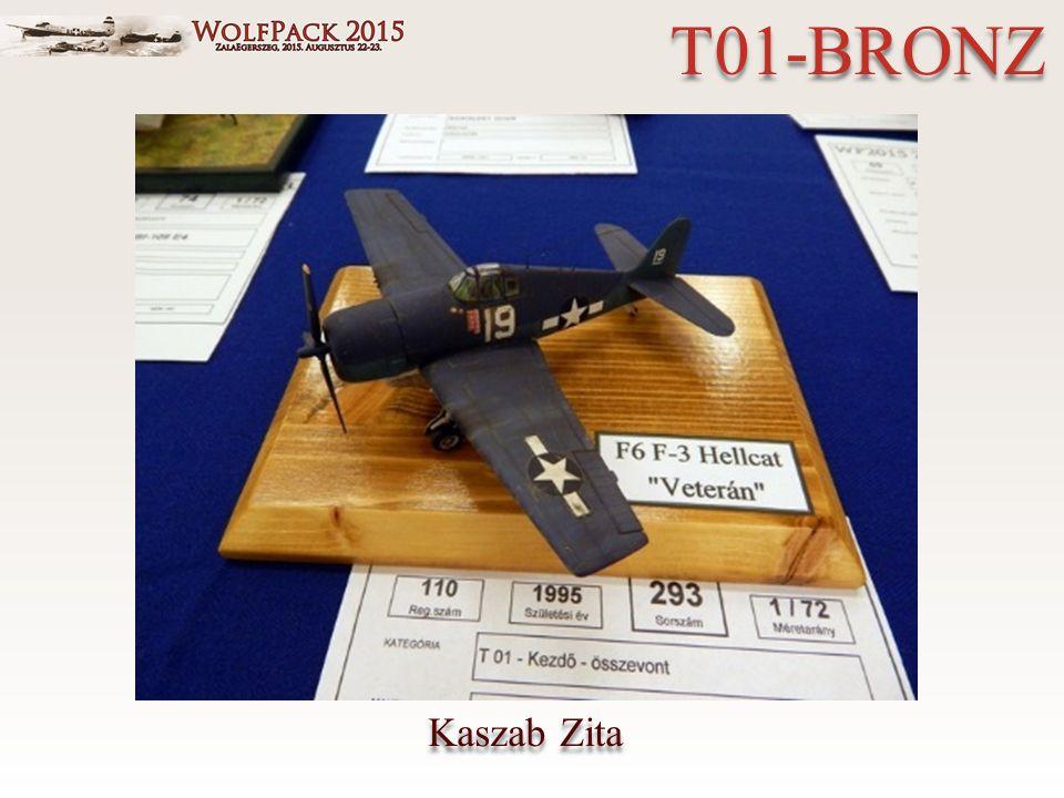 Kaszab Zita T01-BRONZ