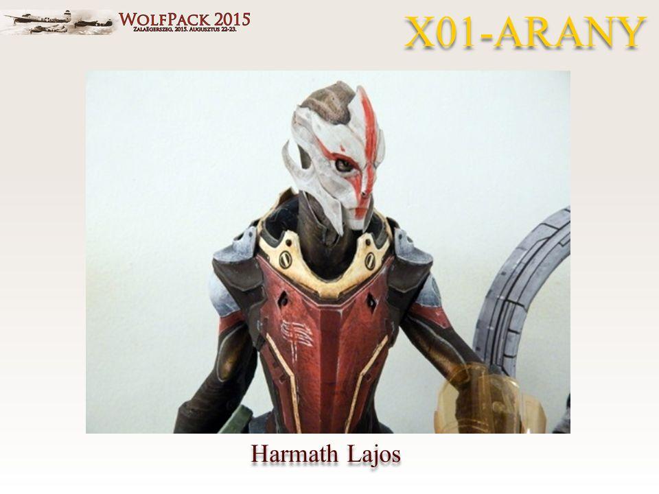 Harmath Lajos X01-ARANY