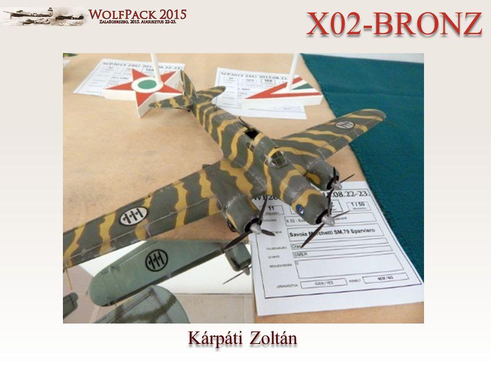 Kárpáti Zoltán X02-BRONZ