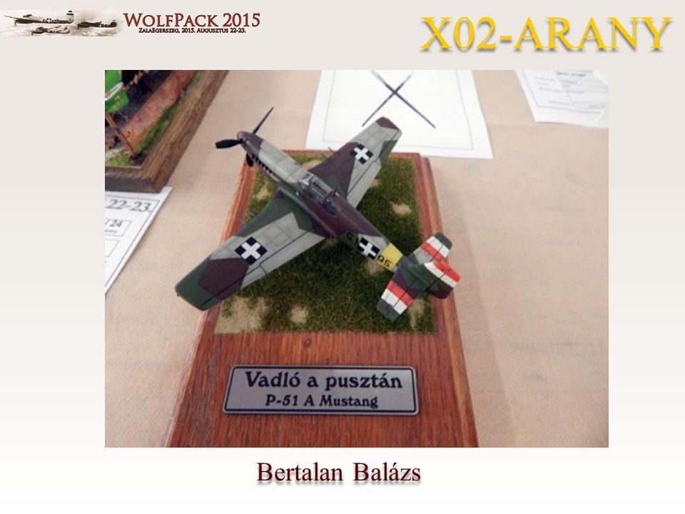 Bertalan Balázs X02-ARANY