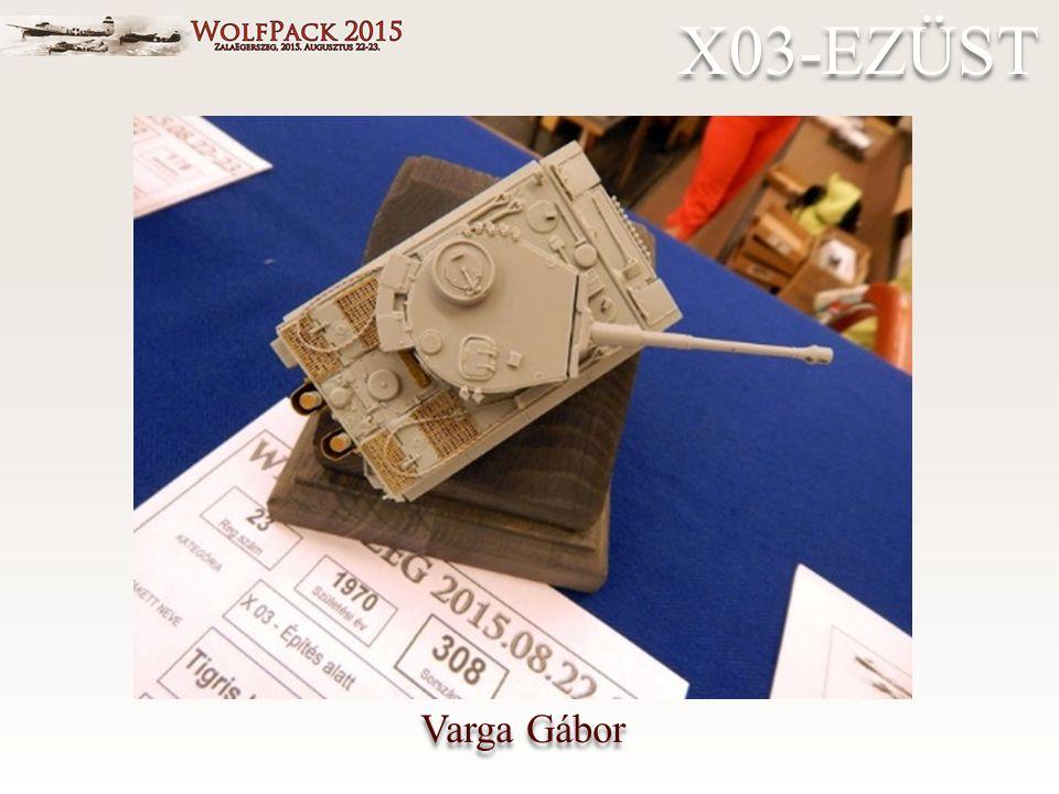 Varga Gábor X03-EZÜST