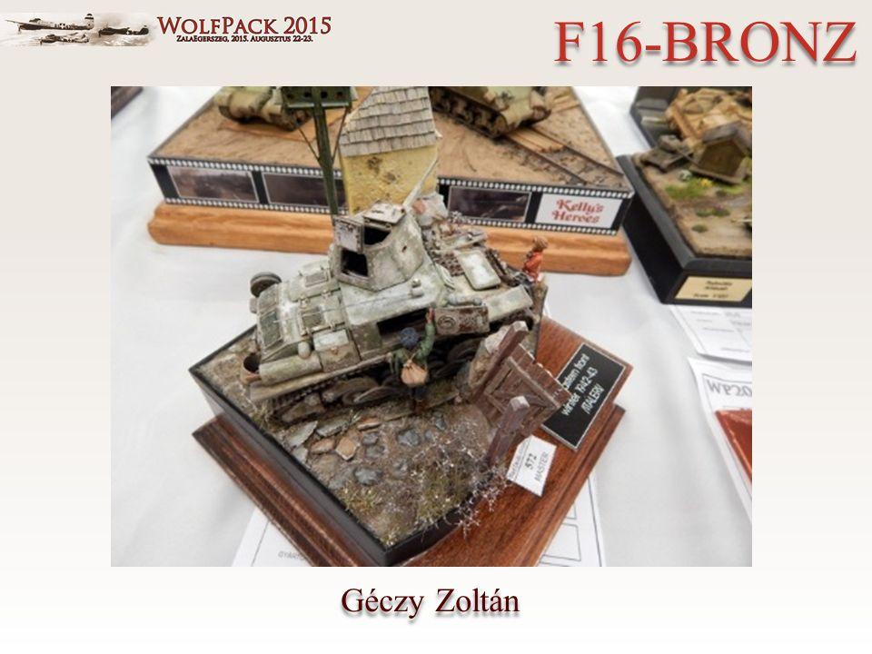 Géczy Zoltán F16-BRONZ