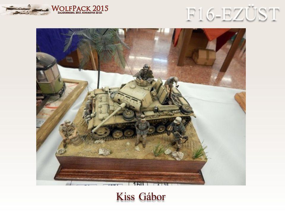 Kiss Gábor F16-EZÜST