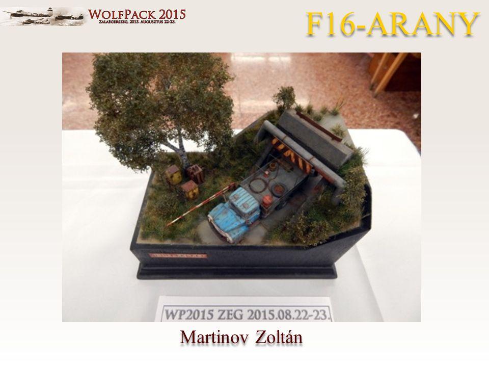 Martinov Zoltán F16-ARANY