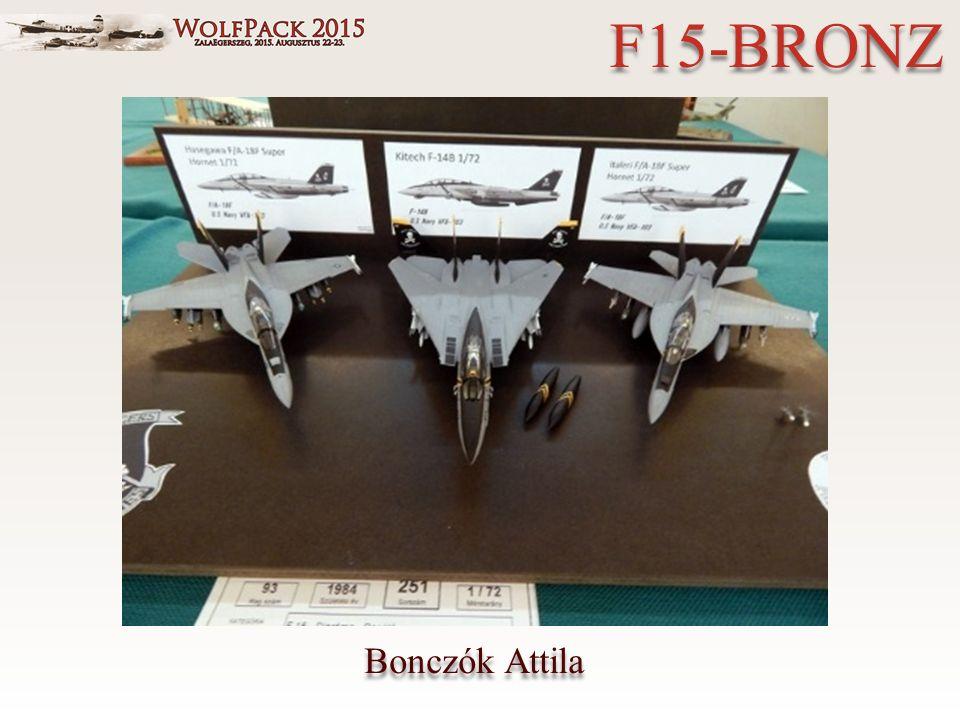 Bonczók Attila F15-BRONZ