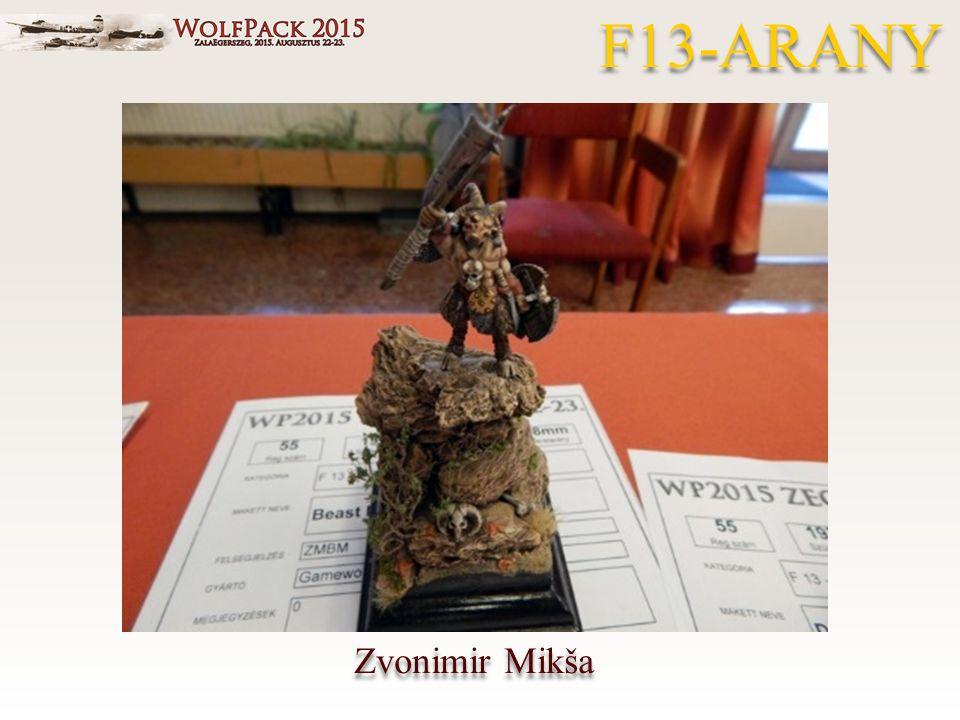 Zvonimir Mikša F13-ARANY