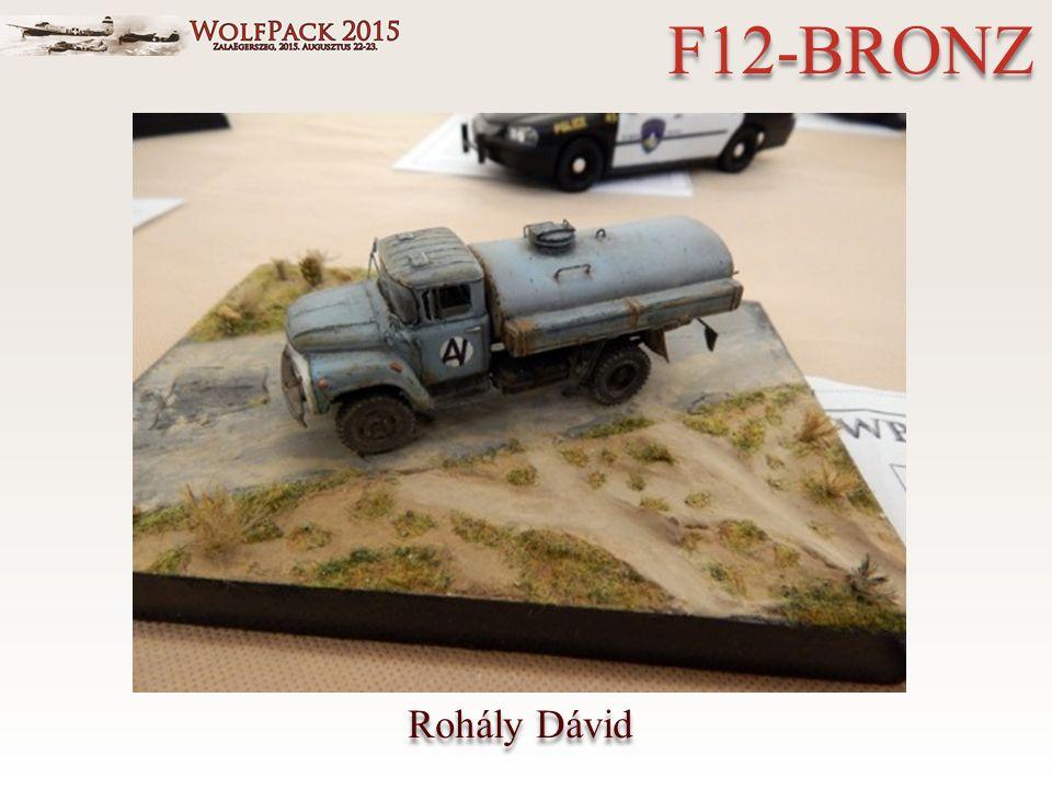 Rohály Dávid F12-BRONZ
