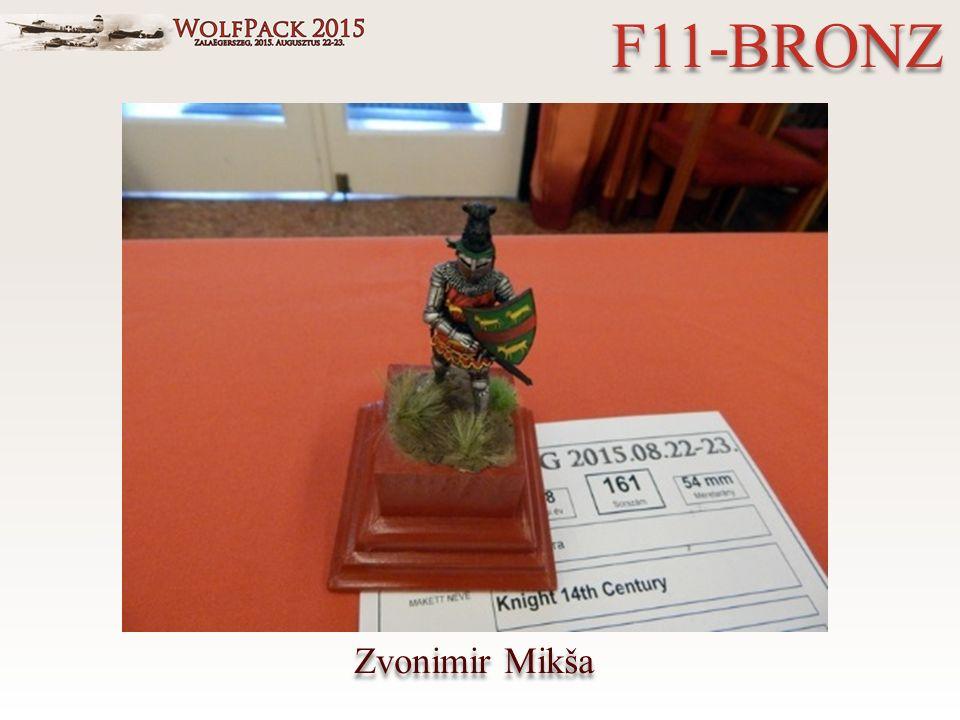 Zvonimir Mikša F11-BRONZ
