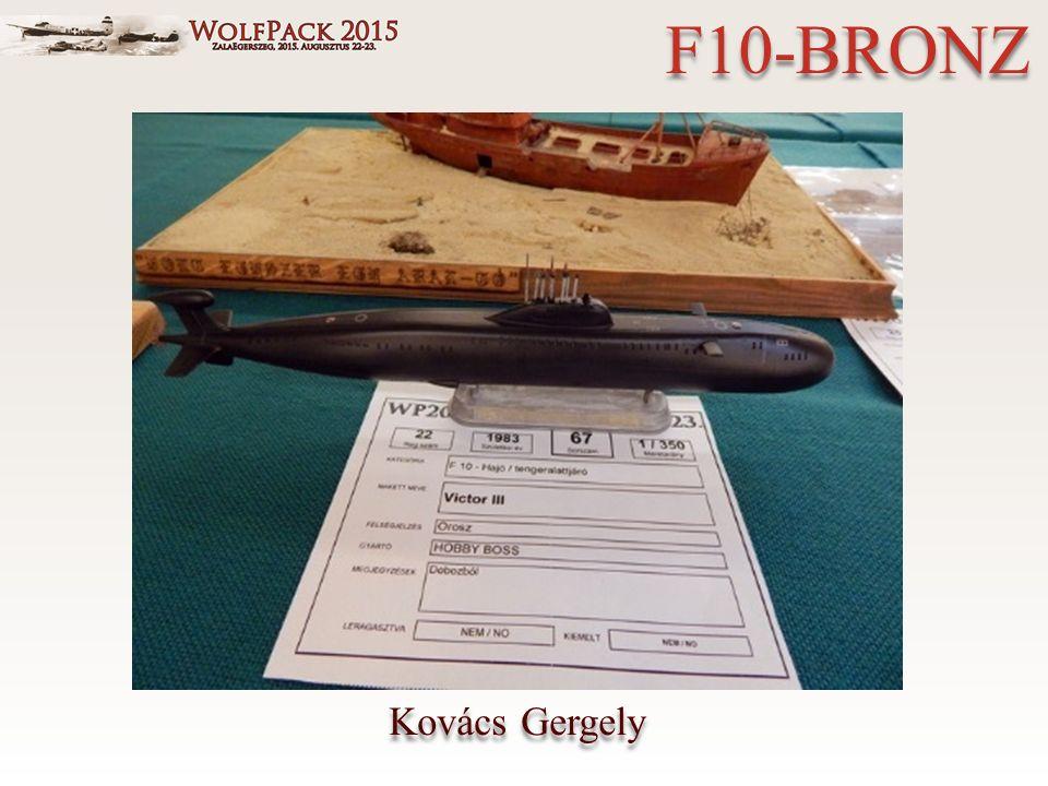 Kovács Gergely F10-BRONZ
