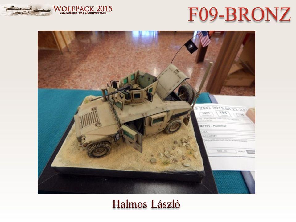Halmos László F09-BRONZ