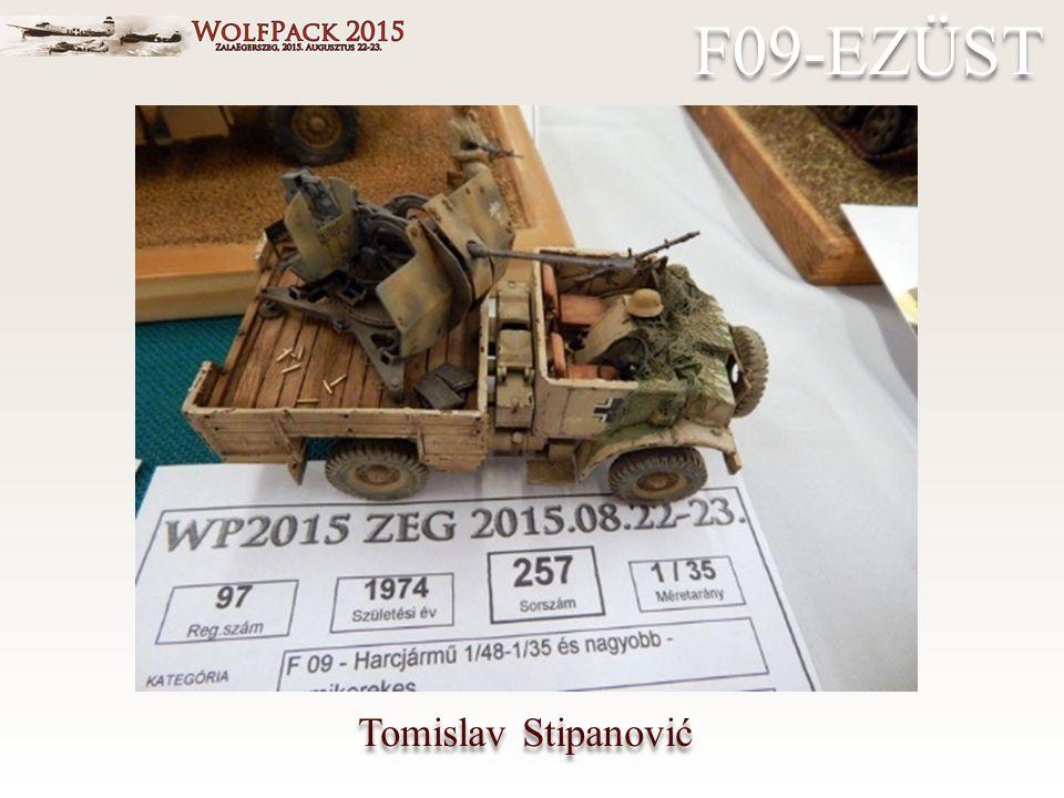 Tomislav Stipanović F09-EZÜST