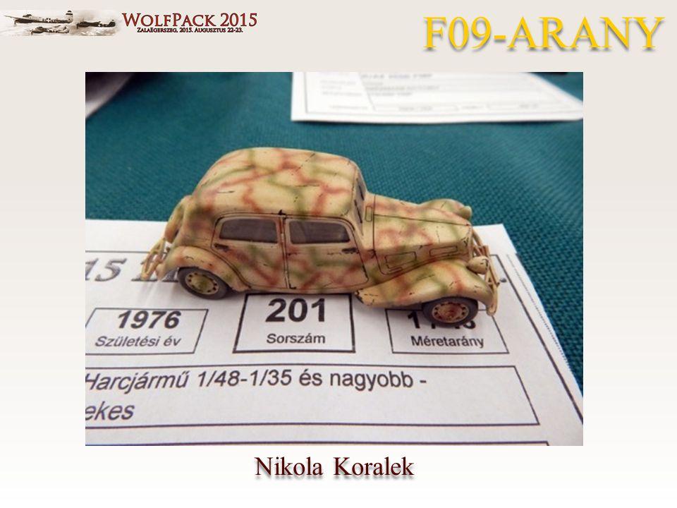 Nikola Koralek F09-ARANY