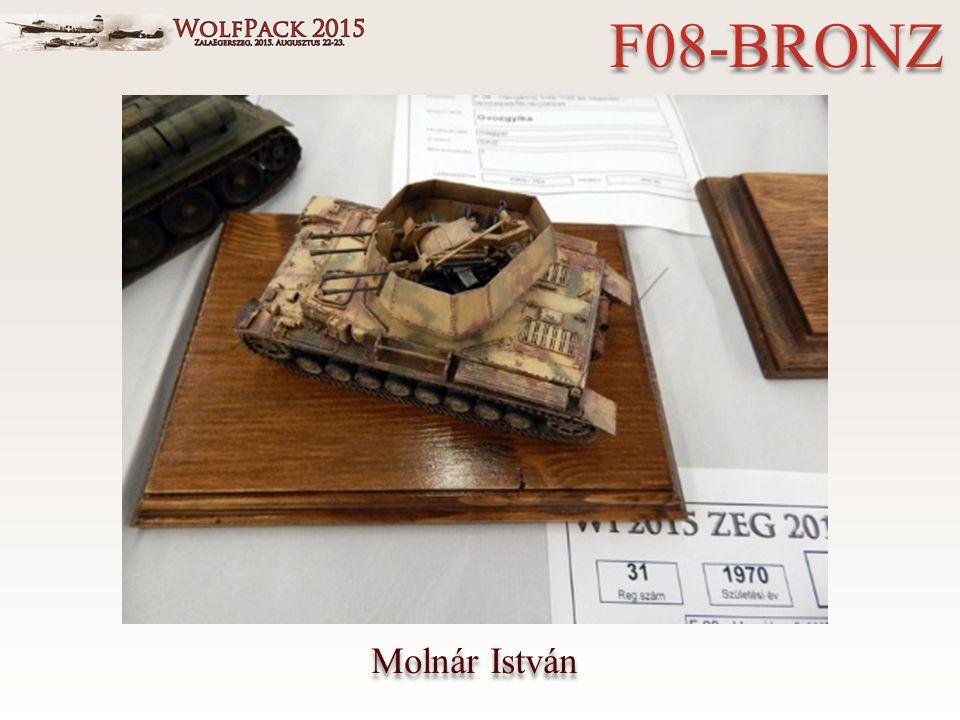 Molnár István F08-BRONZ