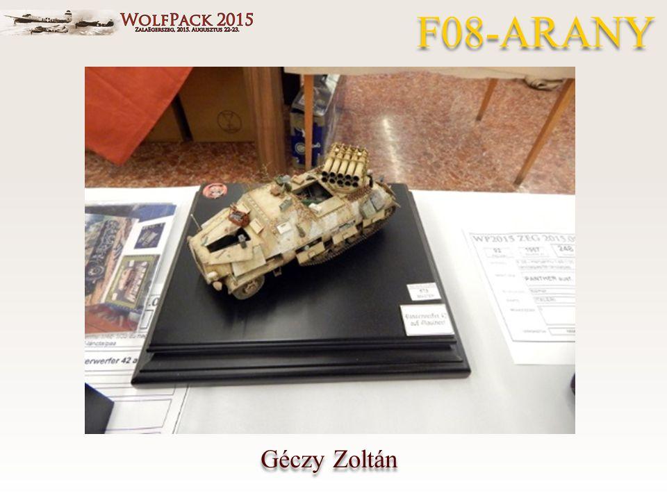 Géczy Zoltán F08-ARANY