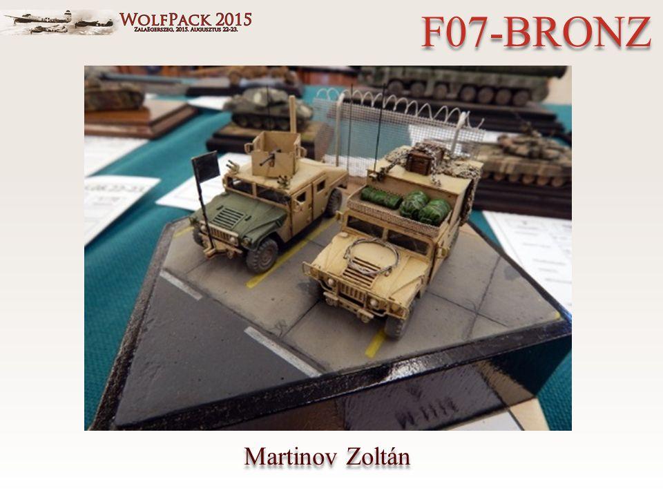 Martinov Zoltán F07-BRONZ