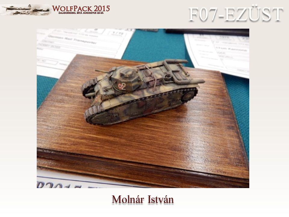 Molnár István F07-EZÜST