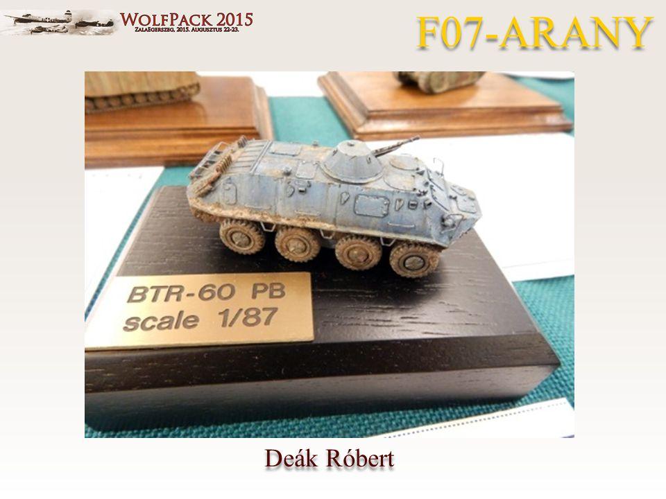 Deák Róbert F07-ARANY