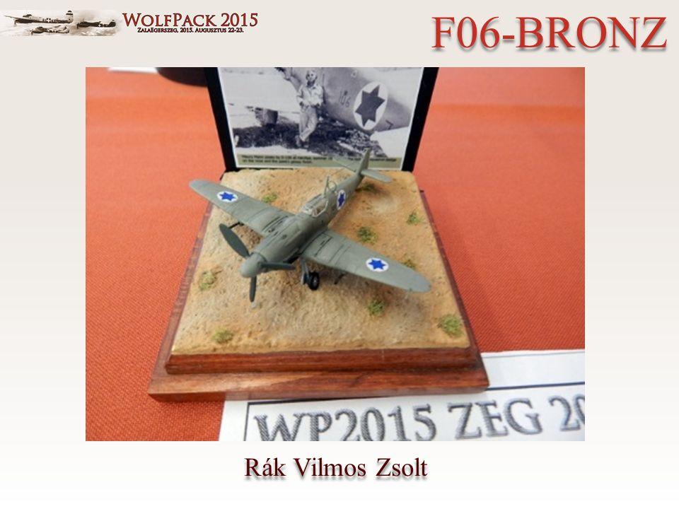 Rák Vilmos Zsolt F06-BRONZ