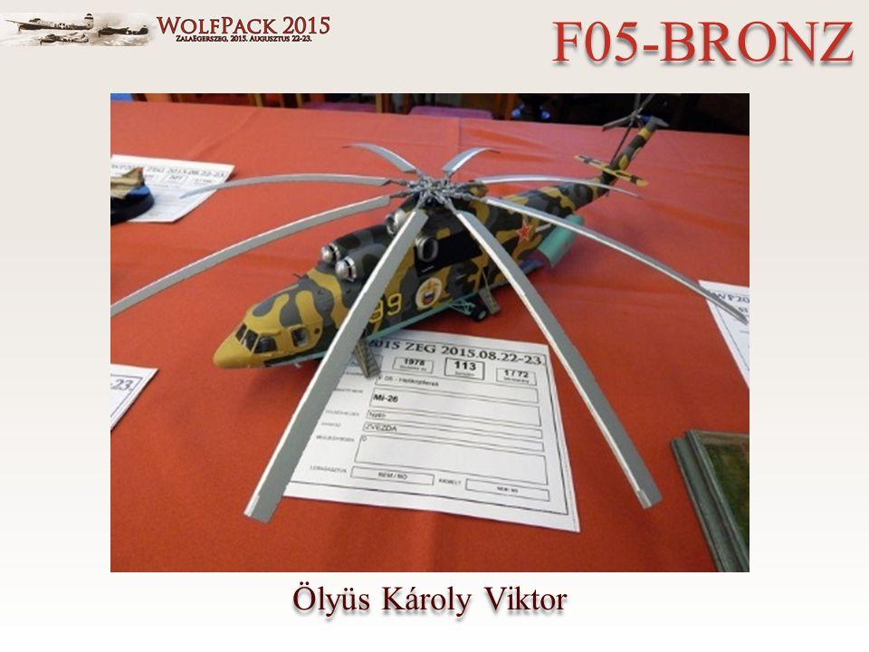 Ölyüs Károly Viktor F05-BRONZ