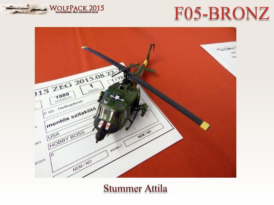 Stummer Attila F05-BRONZ
