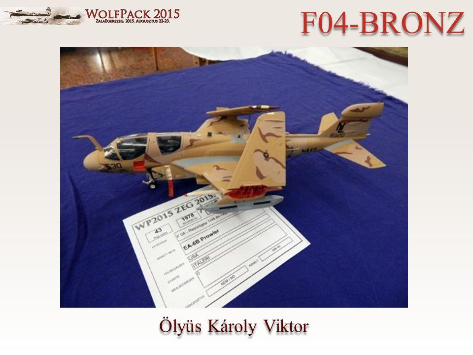 Ölyüs Károly Viktor F04-BRONZ