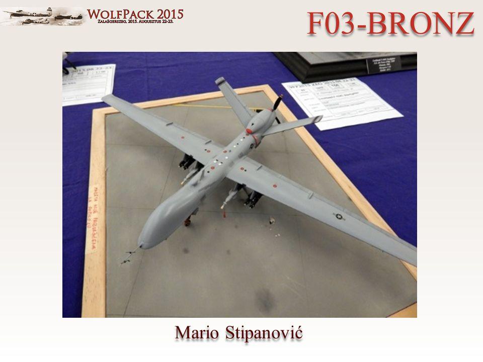 Mario Stipanović F03-BRONZ