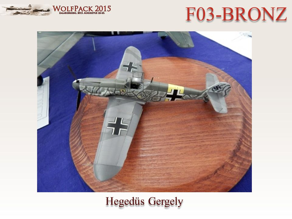 Hegedüs Gergely F03-BRONZ