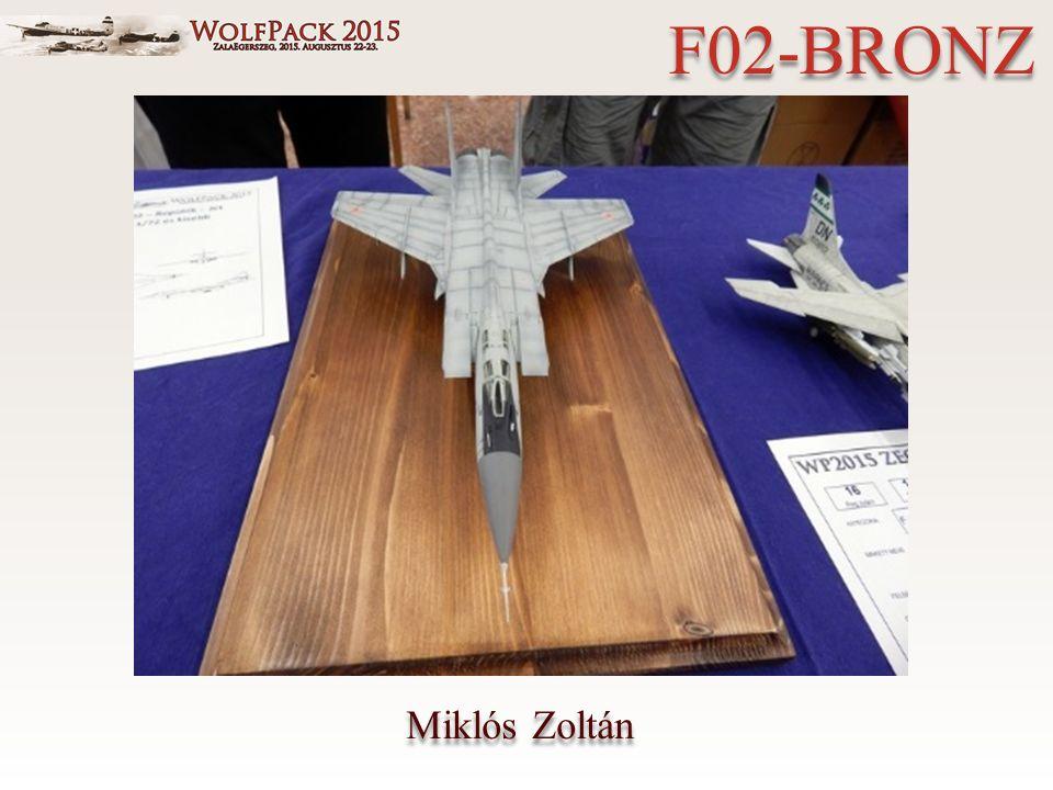 Miklós Zoltán F02-BRONZ