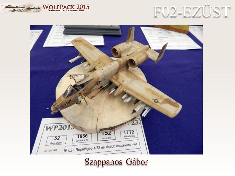 Szappanos Gábor F02-EZÜST