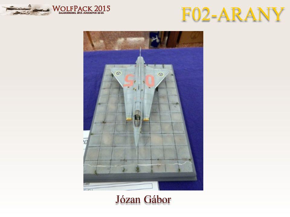 Józan Gábor F02-ARANY