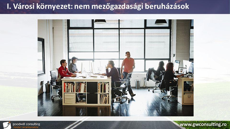 POR 2.1 - alapinfók Városi mikrovállalkozások fejlesztése Pályázati vonalPOR 2.1 CélkitűzésMikrovállalkozások túlélési arányának a növelése Támogatás / projekt25.000 Euro – 200.000 Euro (4,43 RON / Euro) Jelenlegi helyzetPályázati kézikönyv konzultáción augusztus 30- ig Várható indítás2015 szeptember - október