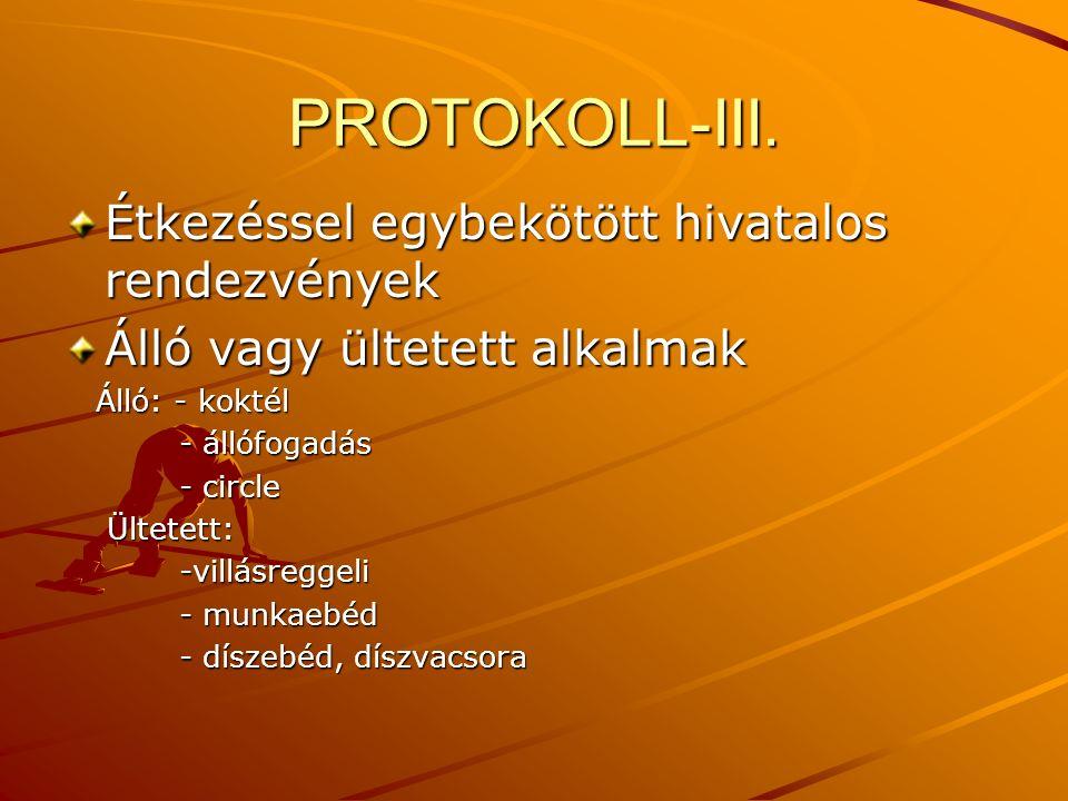 PROTOKOLL-III.