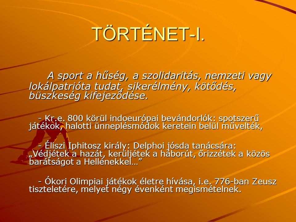 TÖRTÉNET-I.