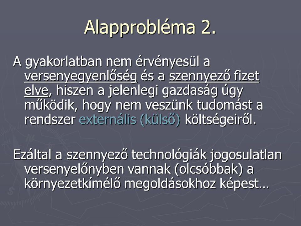 Alapprobléma 2.
