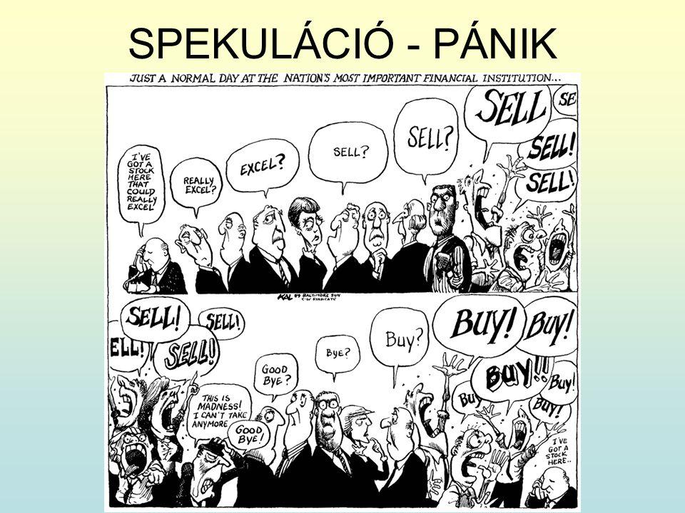 SPEKULÁCIÓ - PÁNIK