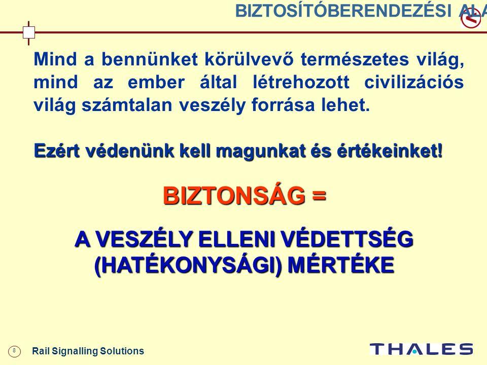 19 Rail Signalling Solutions KÖTÖTTPÁLYÁS BIZTOSÍTÓBERENDEZÉSI TECHNIKA II.
