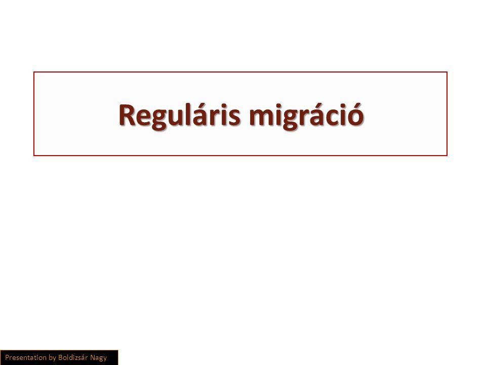 Reguláris migráció Presentation by Boldizsár Nagy