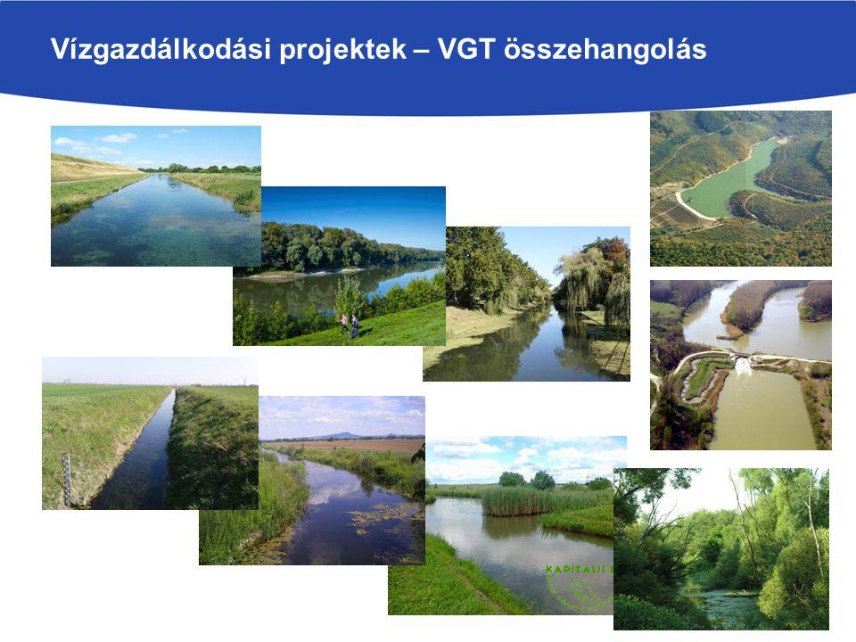 Vízgazdálkodási projektek – VGT összehangolás