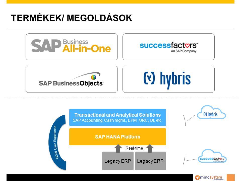 BUSINESS LINES TermékekSzolgáltatásokIparág SAP ERP SAP CRM SAP Business Objects Success Factors Hybris HANA Sybase Rendszer bevezetés Time & materials Rollouts Verzióváltás ABAP/Java fejlesztés Oktatás Kiskereskedelem Nagykereskedelem Divat Gyártás Mezőgazdaság Mind System jogosult viszonteladója (VAR) a SAP ERP/CRM/Hana/Success Factors/Business Objects és Hybris licenszeknek, termékeknek (Gold Level) Mind System széles körű modul ismerettel rendelkezik, a hagyományos modulokon (FI, CO, AM, MM, SD, WM…) túl jelentős tapasztalattal bír a BW, Business Objects, HANA, CRM, Workflow, POS integráció, Mobile eszközök világában is.