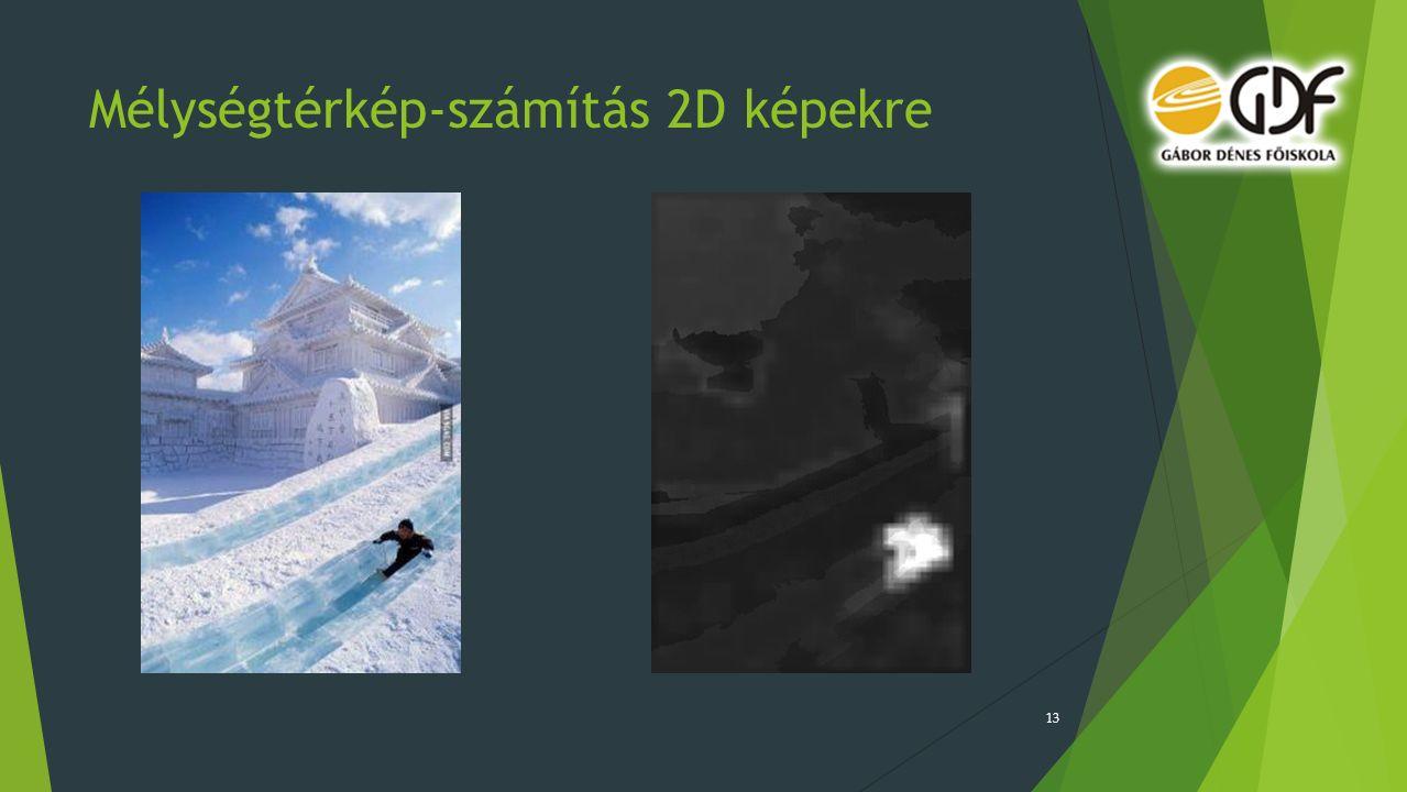 Mélységtérkép-számítás 2D képekre 13