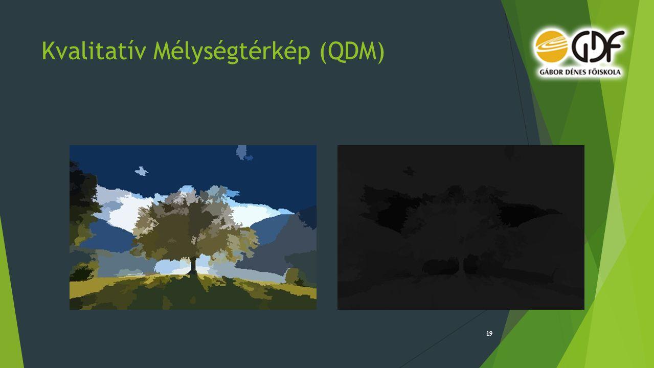 Kvalitatív Mélységtérkép (QDM) 19