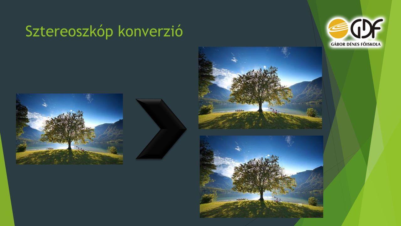 Sztereoszkóp konverzió 25