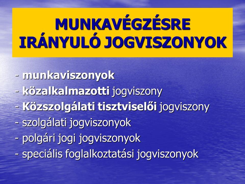 1992.évi XXII. tv. A Munka Törvénykönyvéről (Mt.) 1992.
