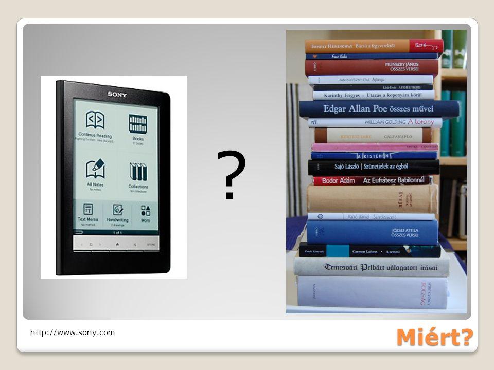 Közzétetel #1,5 platform (POD) http://www.dailymail.co.uk/sciencetech/article-1173013/A-novel- idea-The-machine-print-book-minutes.html