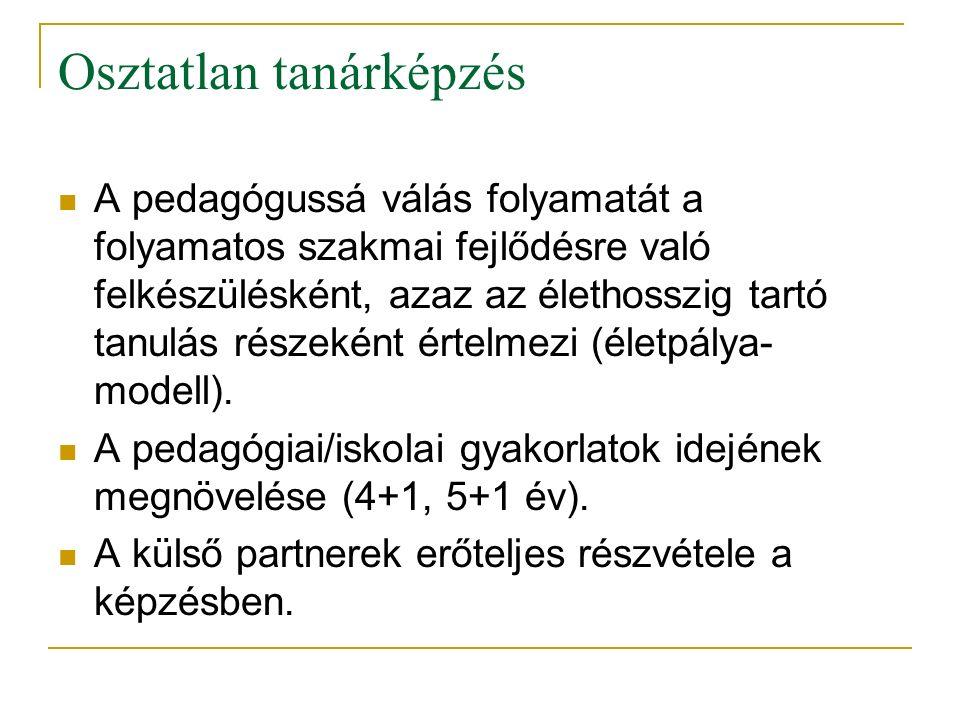 A gyakorlati képzéssel kapcsolatos jogszabályi háttér 2011./CCIV.