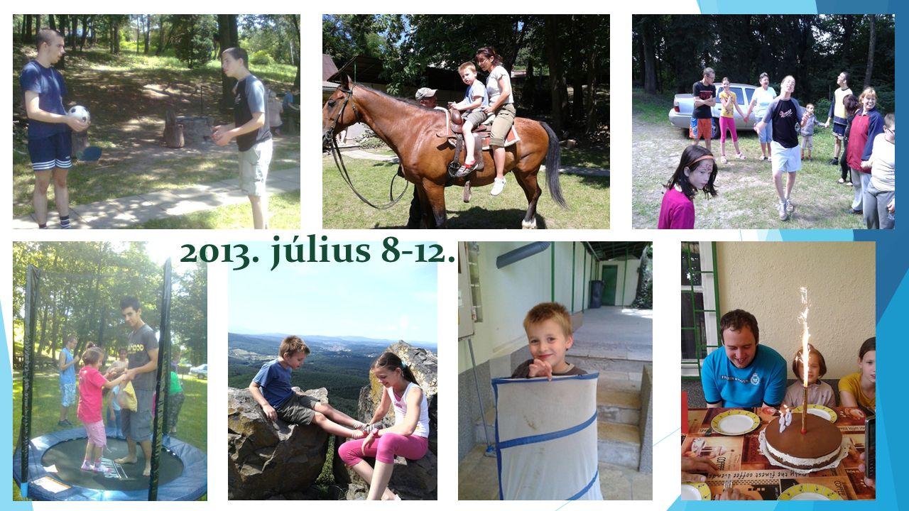 2013. július 8-12.