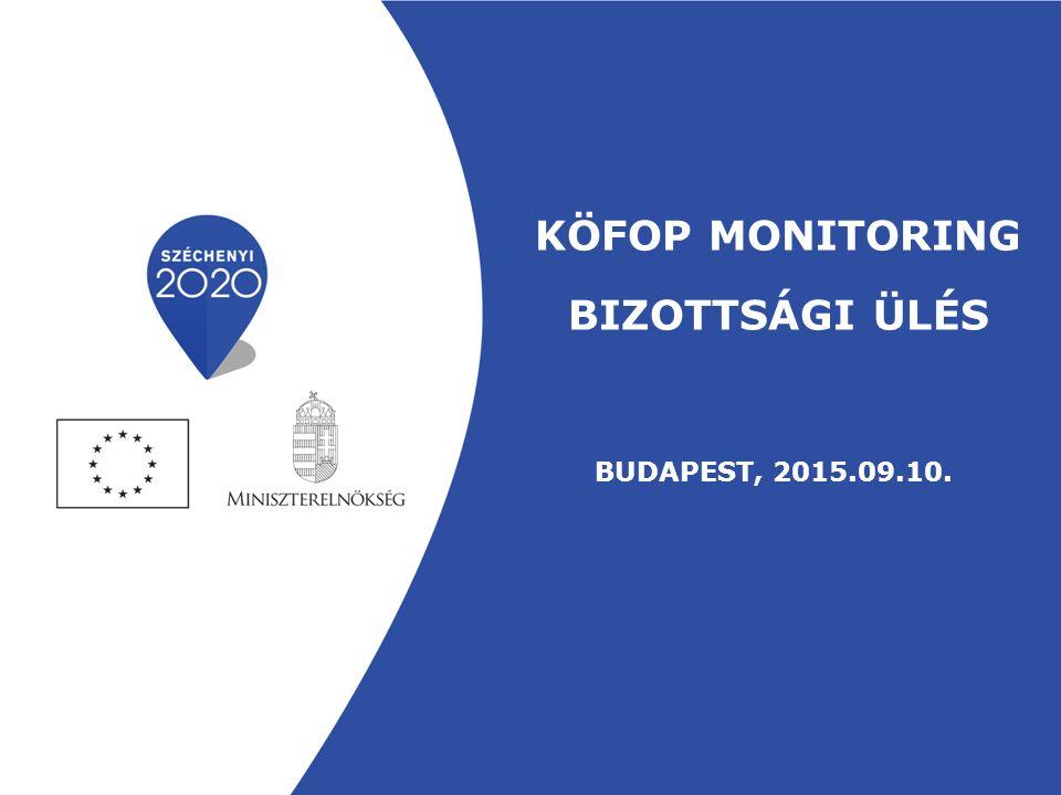 A Monitoring Bizottság feladatai (3) A Kormány 272/2014.