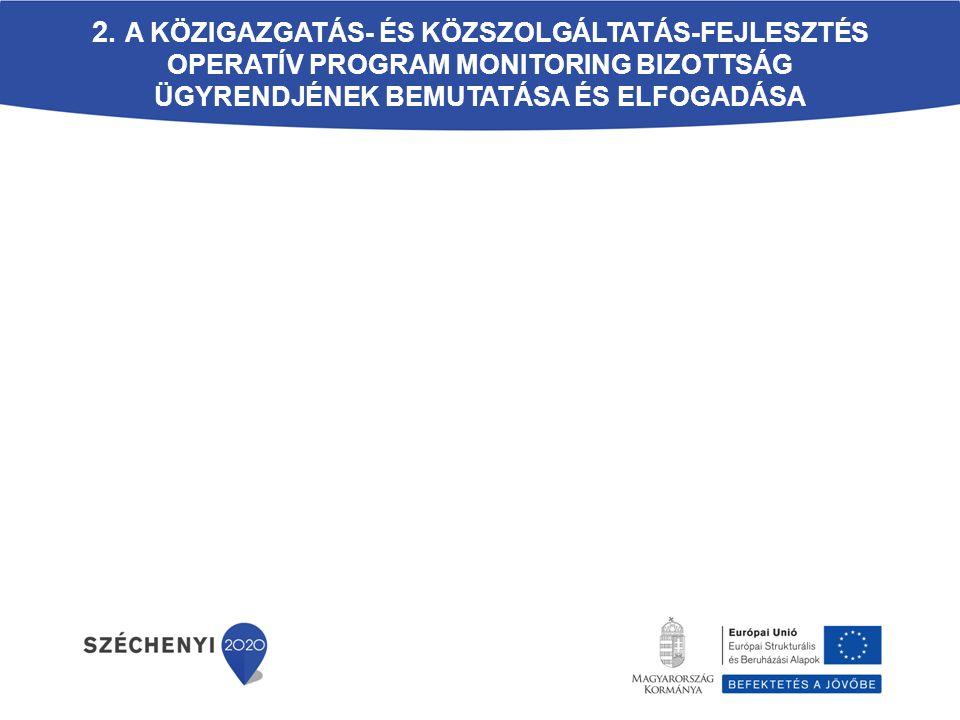 A Monitoring Bizottság működése  Döntési folyamat: Határozatképesség: a szavazati joggal bíró tagok több, mint fele jelen van.