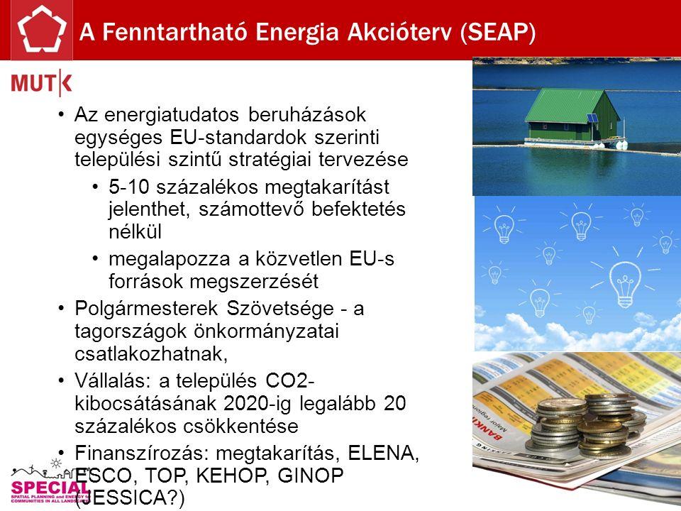 Az energiatudatos beruházások egységes EU-standardok szerinti települési szintű stratégiai tervezése 5-10 százalékos megtakarítást jelenthet, számotte